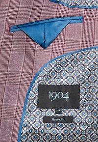 1904 - BUTLER SKINNY FIT SUIT BLAZER - Veste de costume - pink - 7