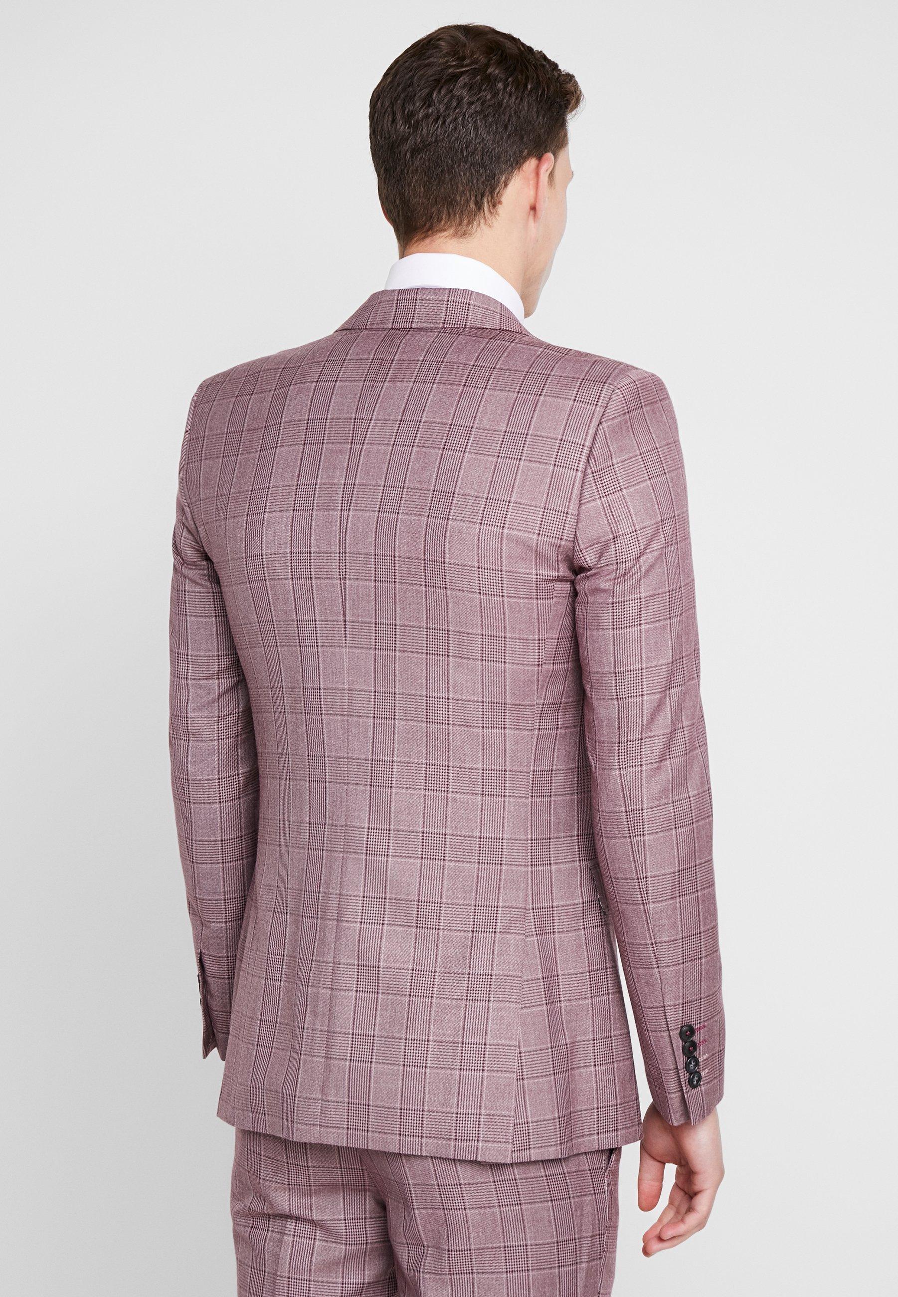 Skinny Fit BlazerVeste Suit Costume De 1904 Butler Pink W2D9EHI