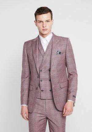BUTLER SKINNY FIT SUIT BLAZER - Chaqueta de traje - pink