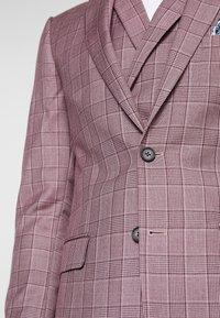 1904 - BUTLER SKINNY FIT SUIT BLAZER - Veste de costume - pink - 5