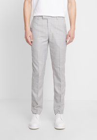 1904 - RUSSELL SUIT TROUSERS - Broek - stone - 0