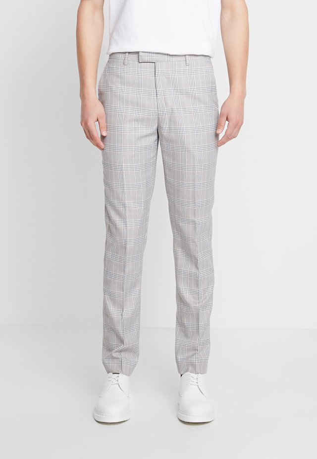 RUSSELL SUIT TROUSERS - Kalhoty - stone