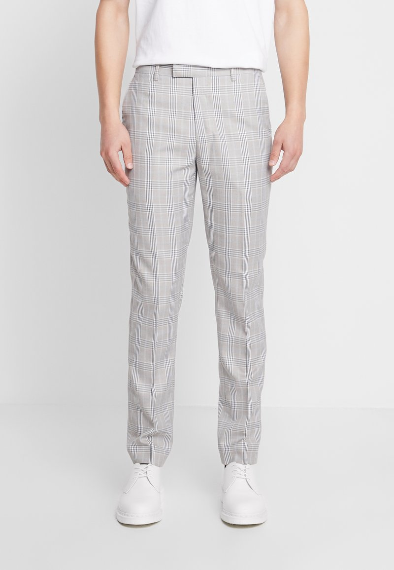 1904 - RUSSELL SUIT TROUSERS - Broek - stone