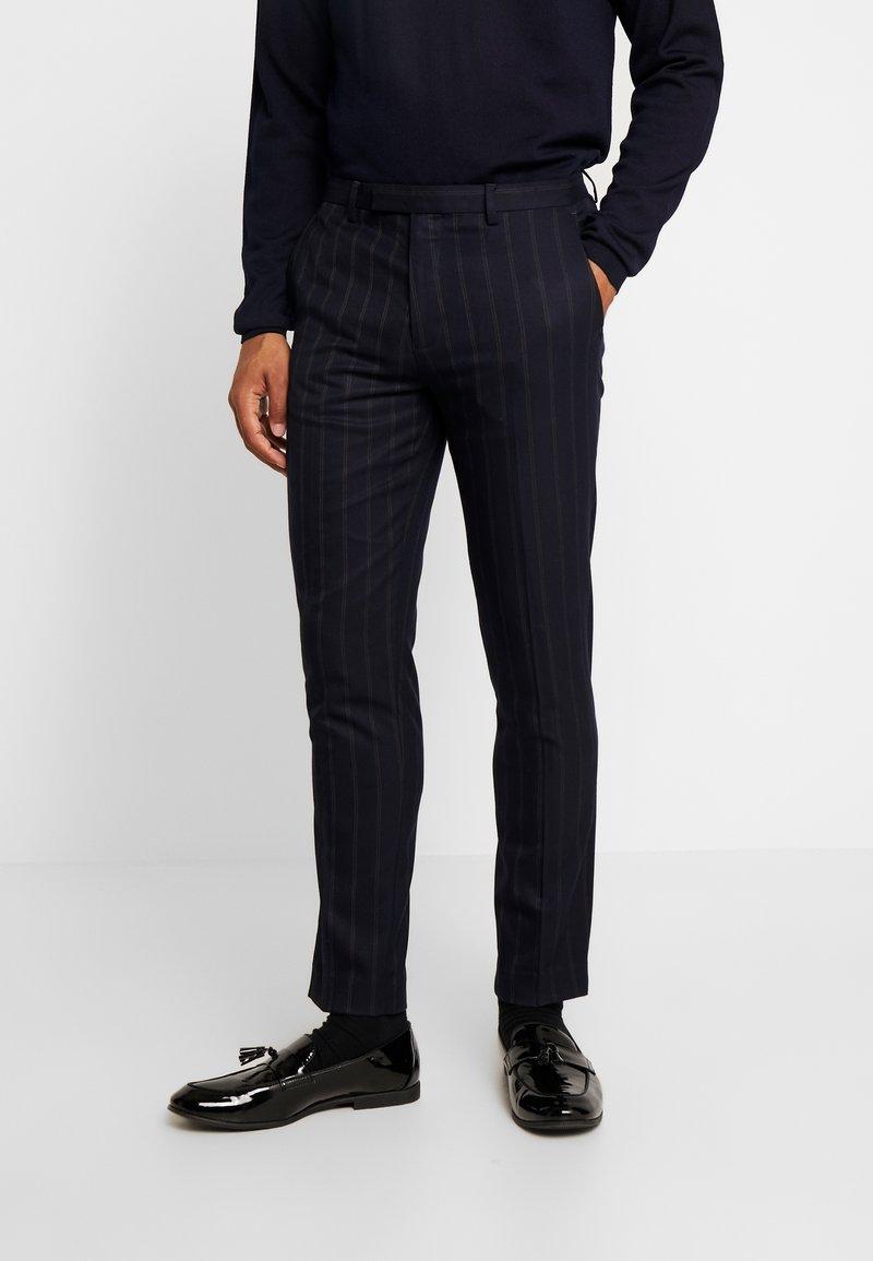 1904 - SCOTT SUIT  - Suit trousers - navy