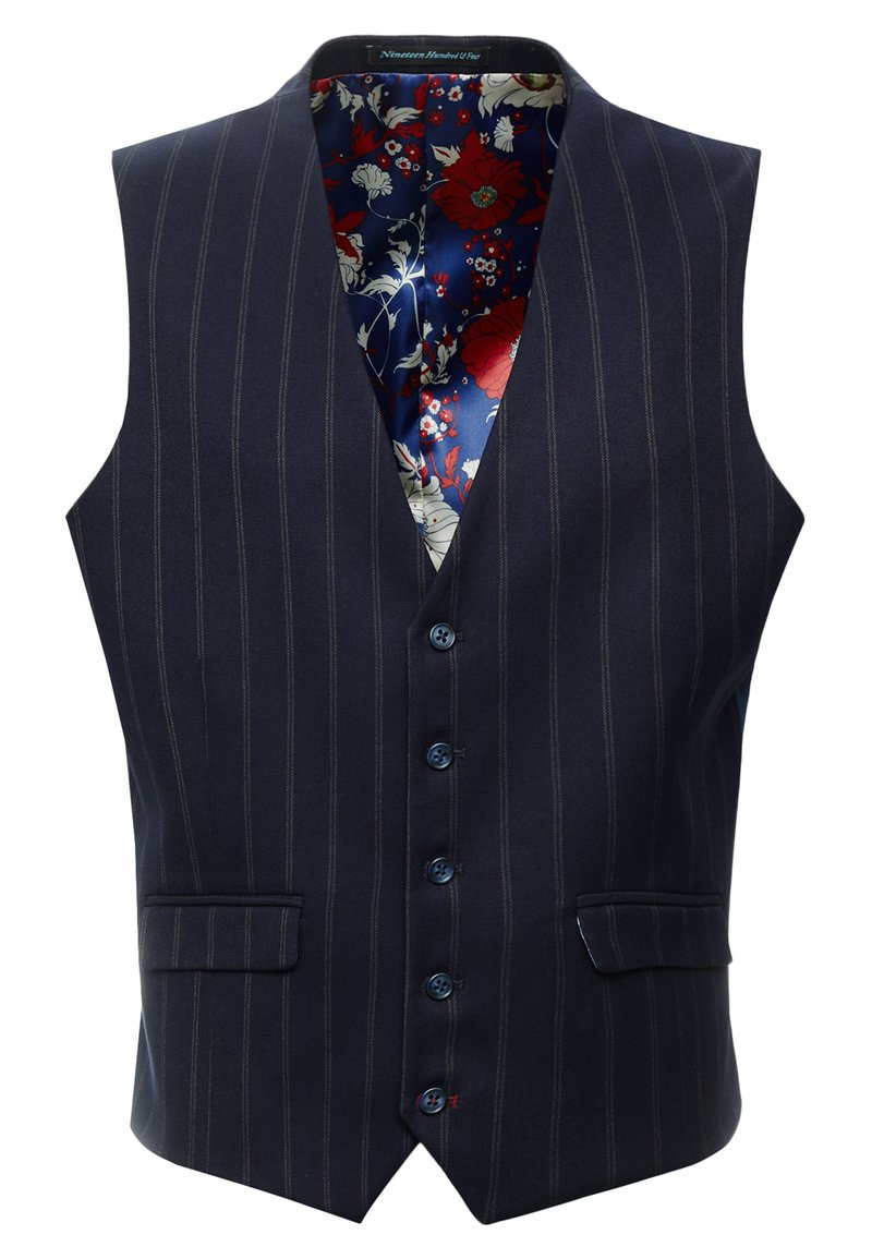1904 - SCOTT SUIT  - Gilet elegante - navy