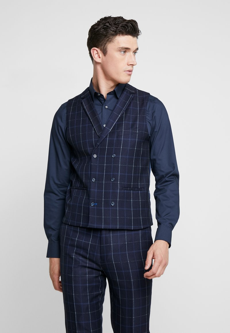1904 - ASTAIRE  - Suit waistcoat - navy