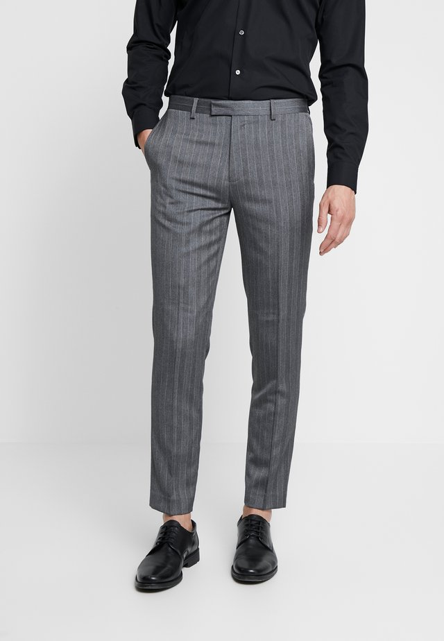 TENNANT  - Spodnie garniturowe - grey