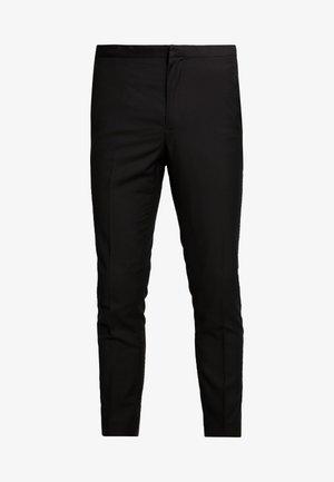 BOND TUX TROUSER  - Pantalón de traje - black