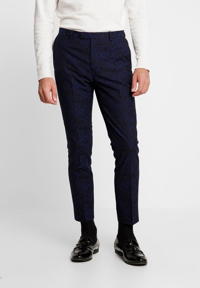 HARDY  - Oblekové kalhoty - navy