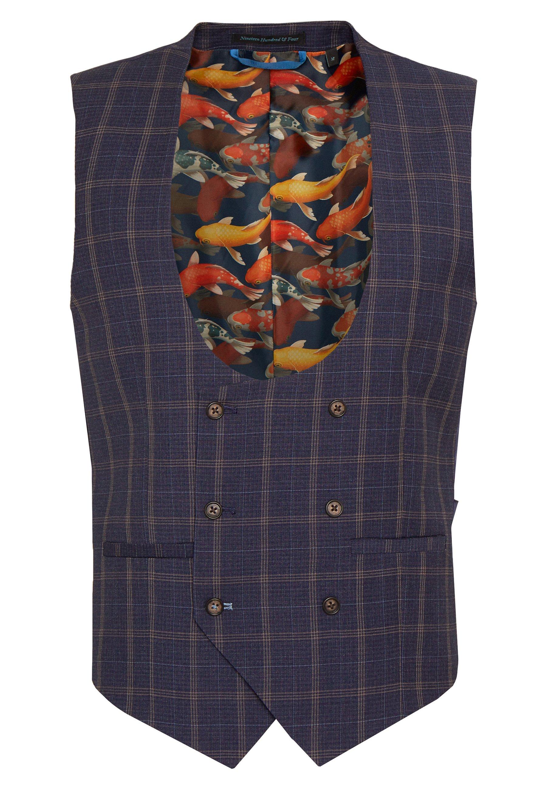 1904 Cortes - Suit Waistcoat Navy