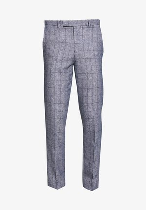 HIRST SUIT - Suit trousers - blue