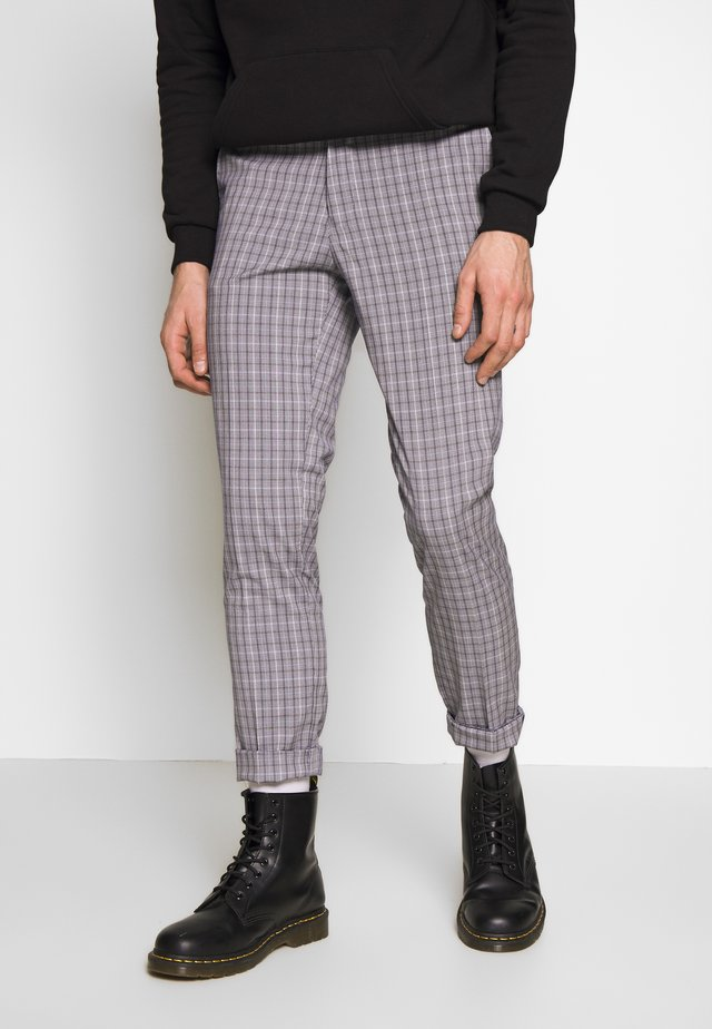 HOMEWOOD SLIM - Suit trousers - grey