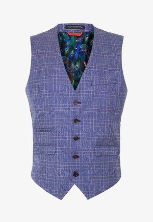 BLY BLUE JASPE - Suit jacket - mid blue