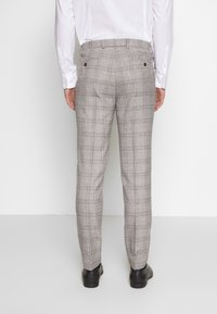 1904 - JASPE CHECK TROUSER SKINNY - Pantaloni eleganti - mid grey - 2