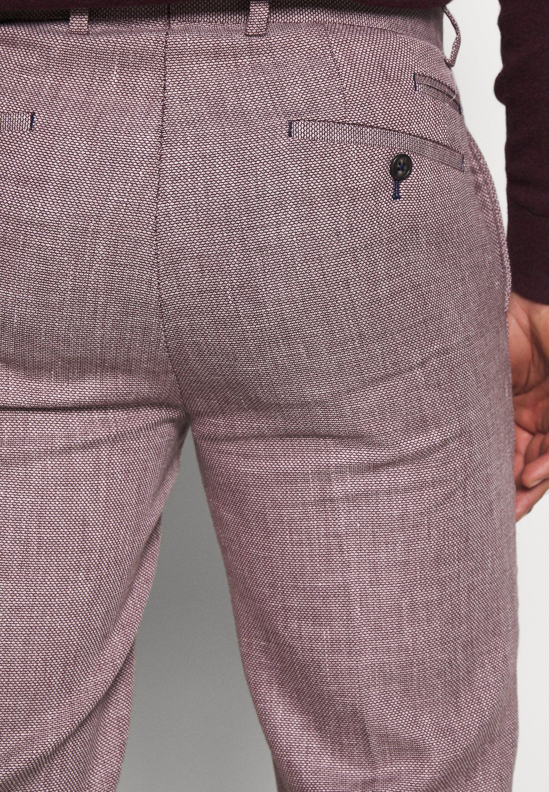 1904 Trouser Slim - Kostymbyxor Pink