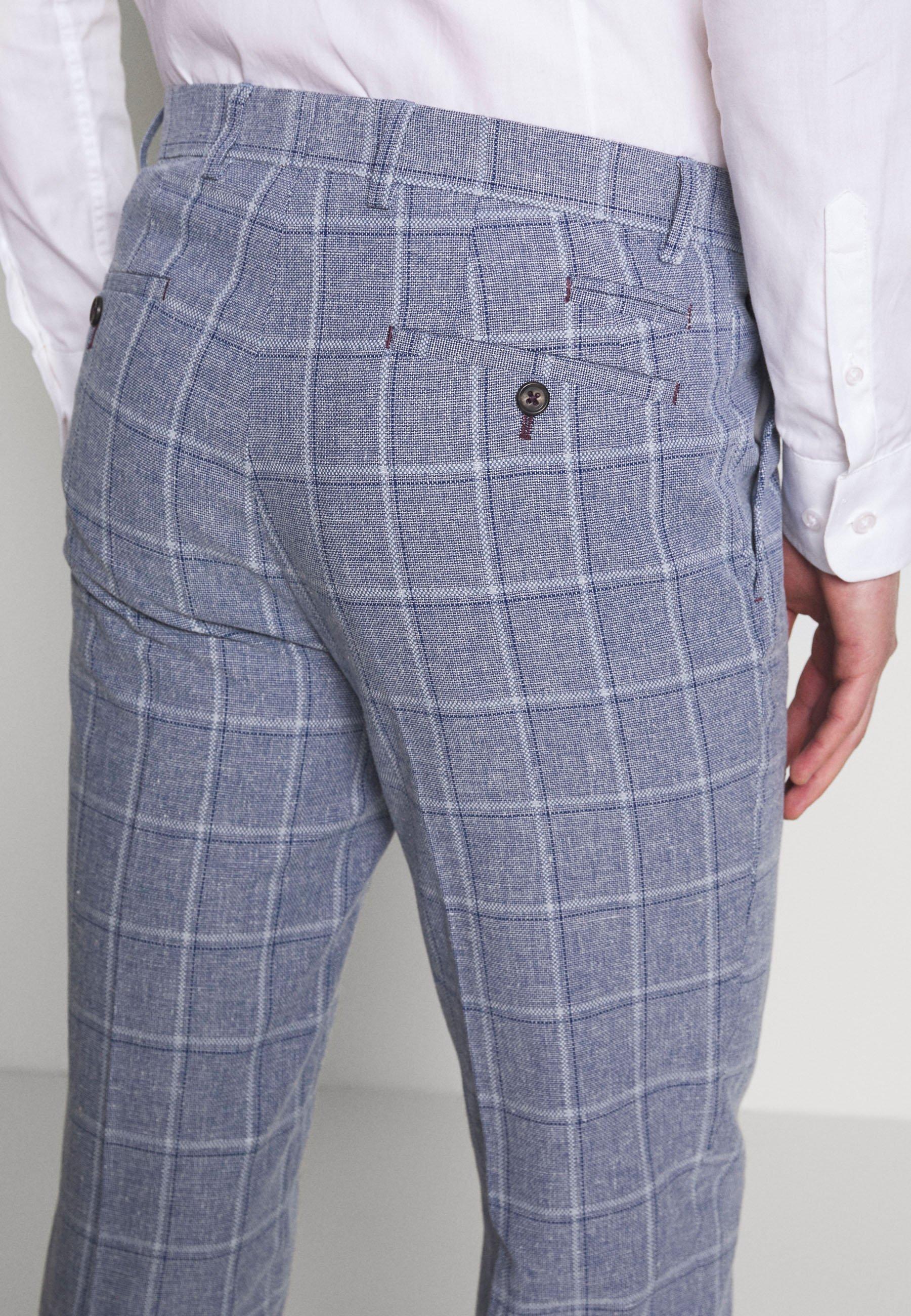 1904 Trouser Slim - Anzughose Mid Blue Black Friday