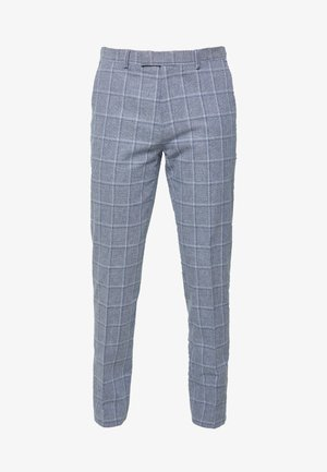 TROUSER SLIM - Oblekové kalhoty - mid blue