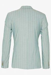 1904 - MOORE PIN STRIPE JACKET SKINNY - Suit jacket - green - 1