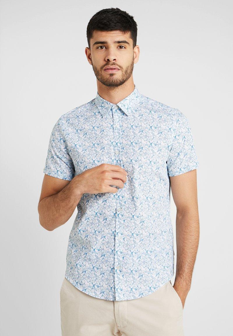 1904 - OUTLINE FLORAL - Skjorter - blue