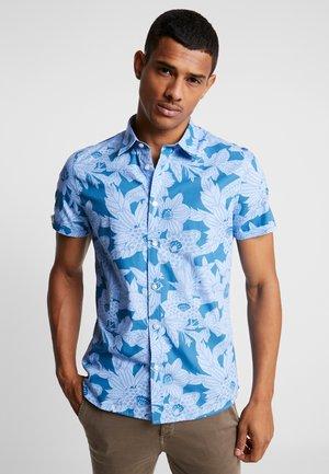 CALAN JAPANESE DOTED SHIRT - Overhemd - navy