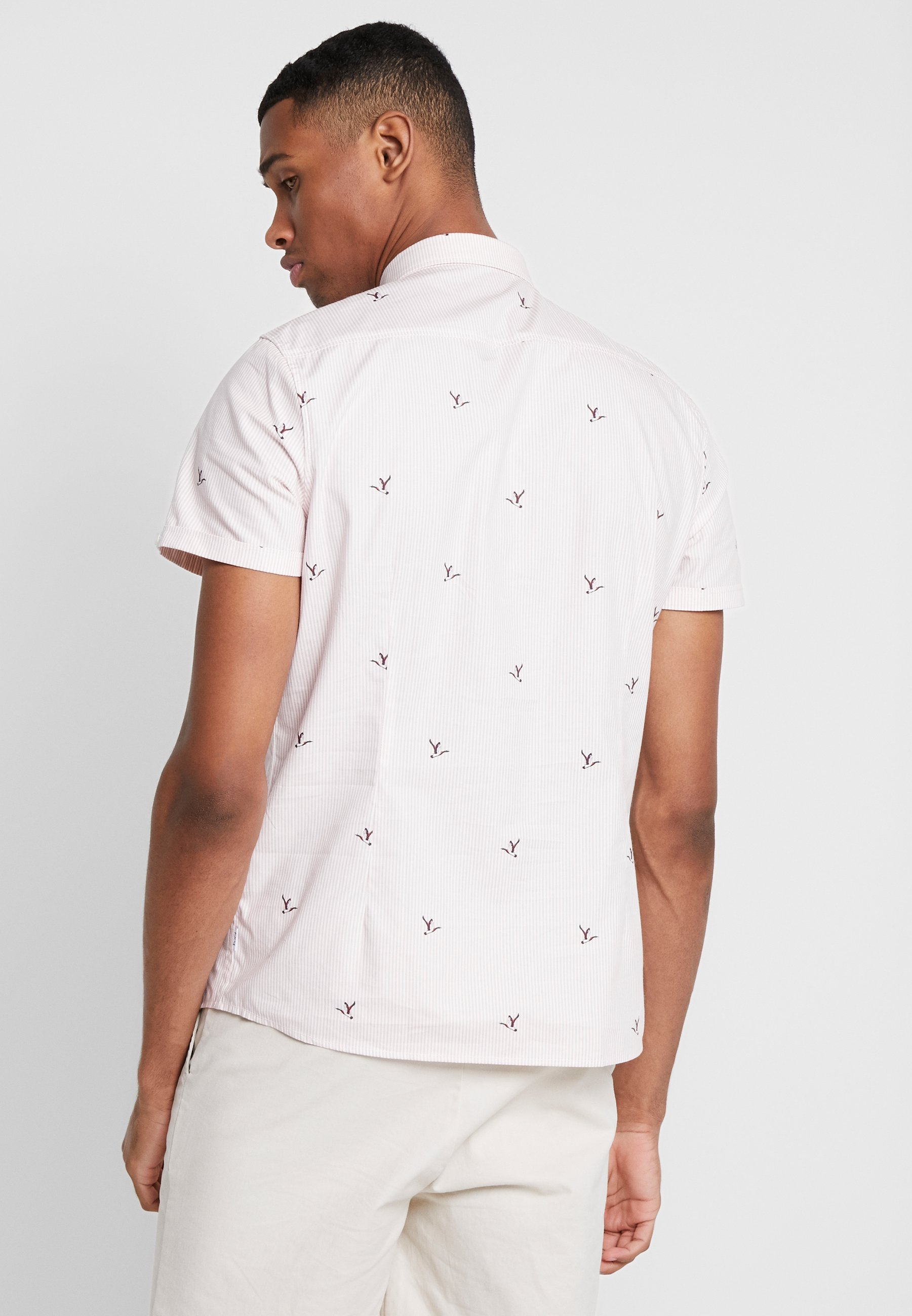 Curran 1904 Duck Imprimé Pink shirt ShirtT 5AR4Lj