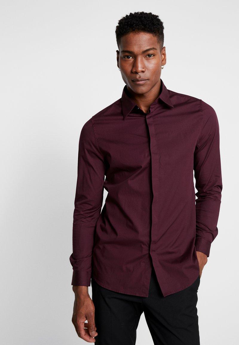 1904 - BRODIE SHIRT BURG SLIM FIT - Formal shirt - red