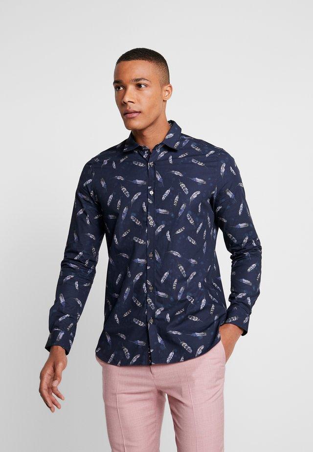ELLON SHIRT - Overhemd - navy