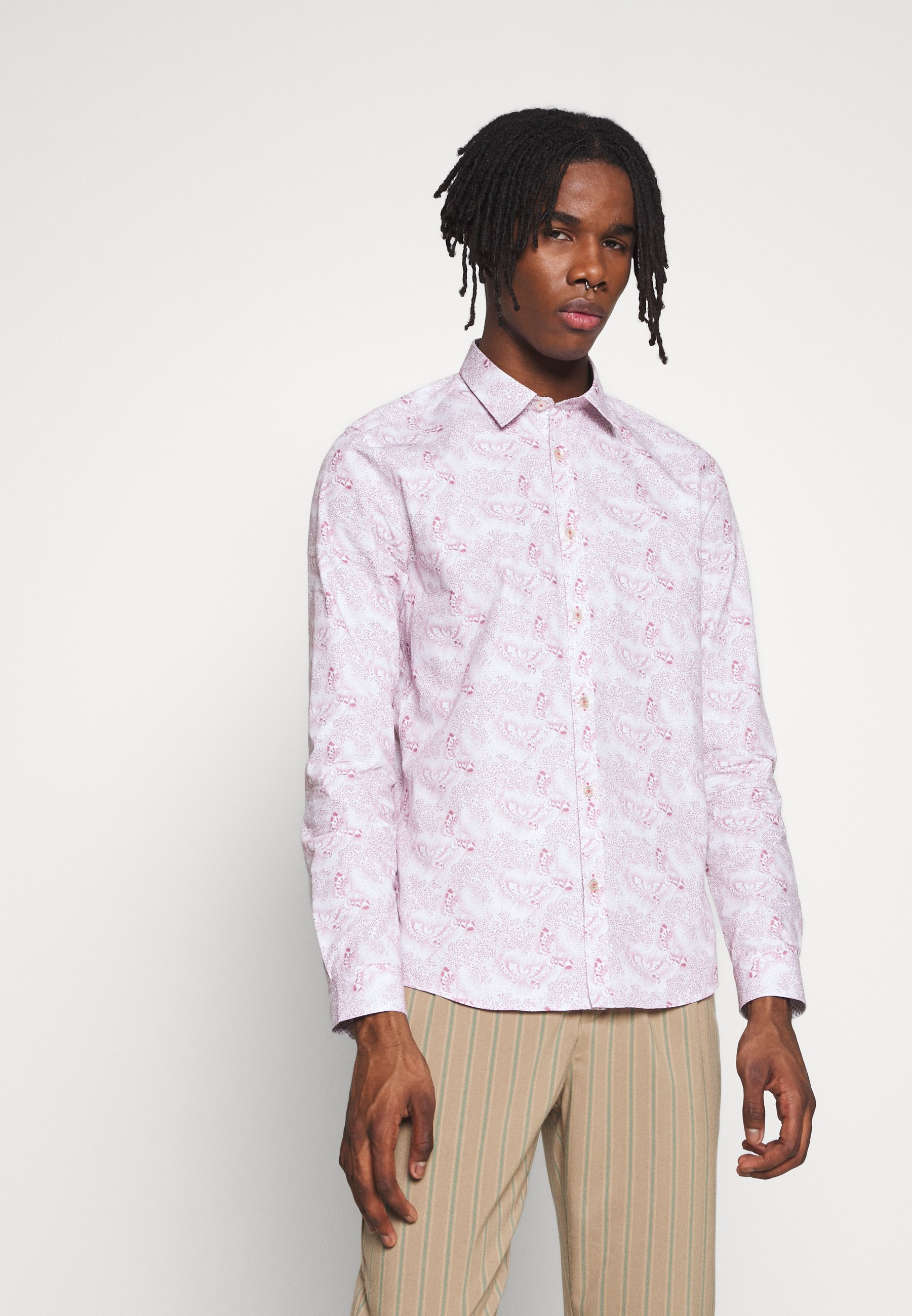1904 AVERBURY BUTTERFLY PRINT - Koszula - pink