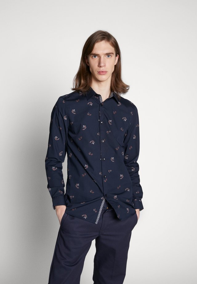 DURBAN KOI FISH - Shirt - navy