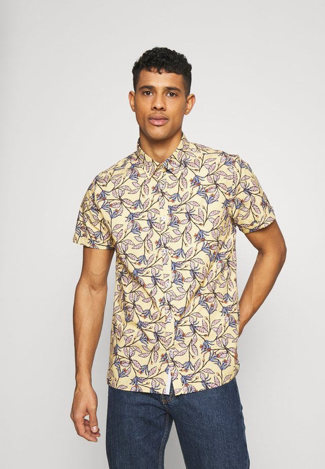 PORT GEO FLORAL  - Shirt - yellow