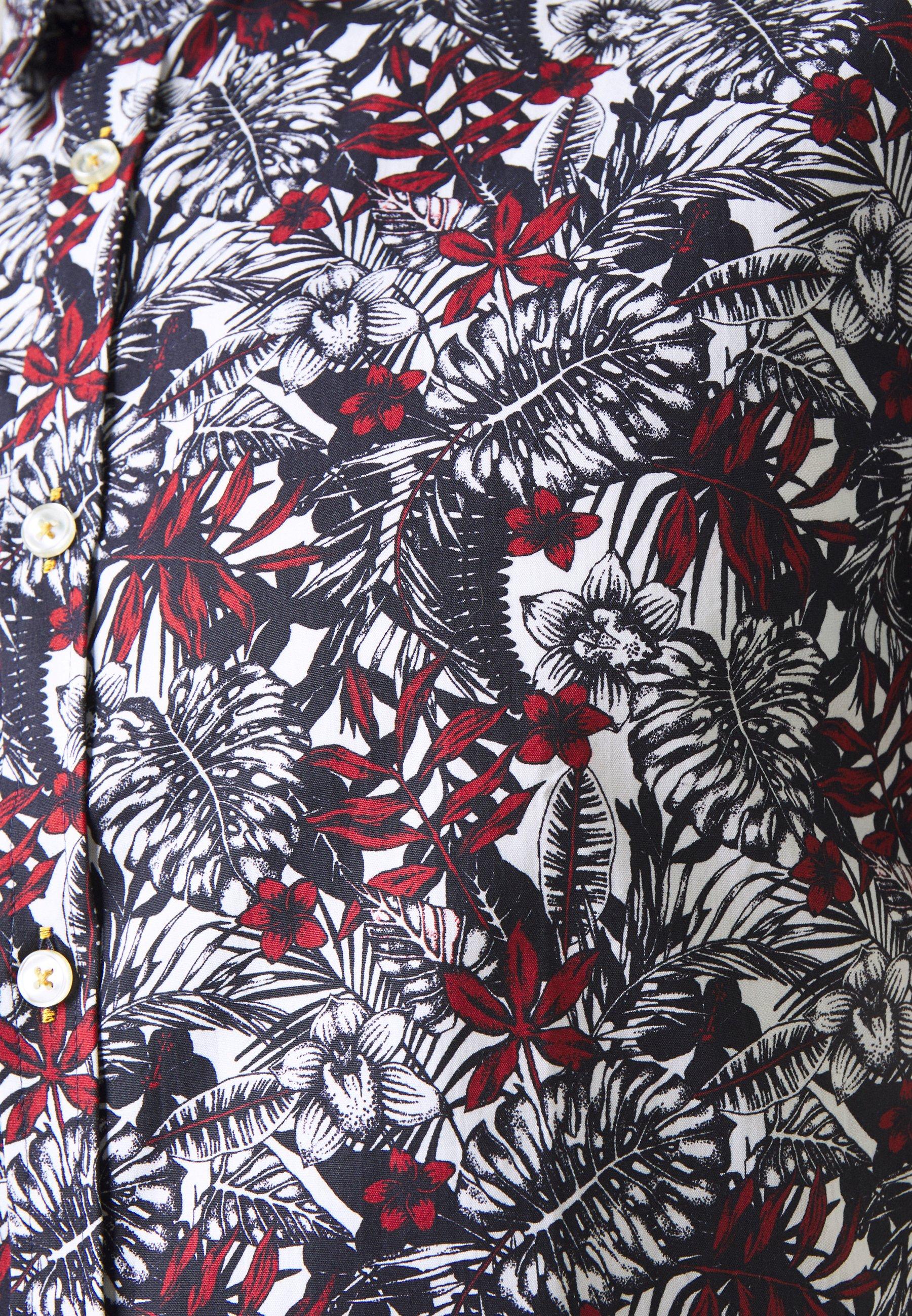 1904 Ambleside Henna Jungle Print - Skjorta Navy