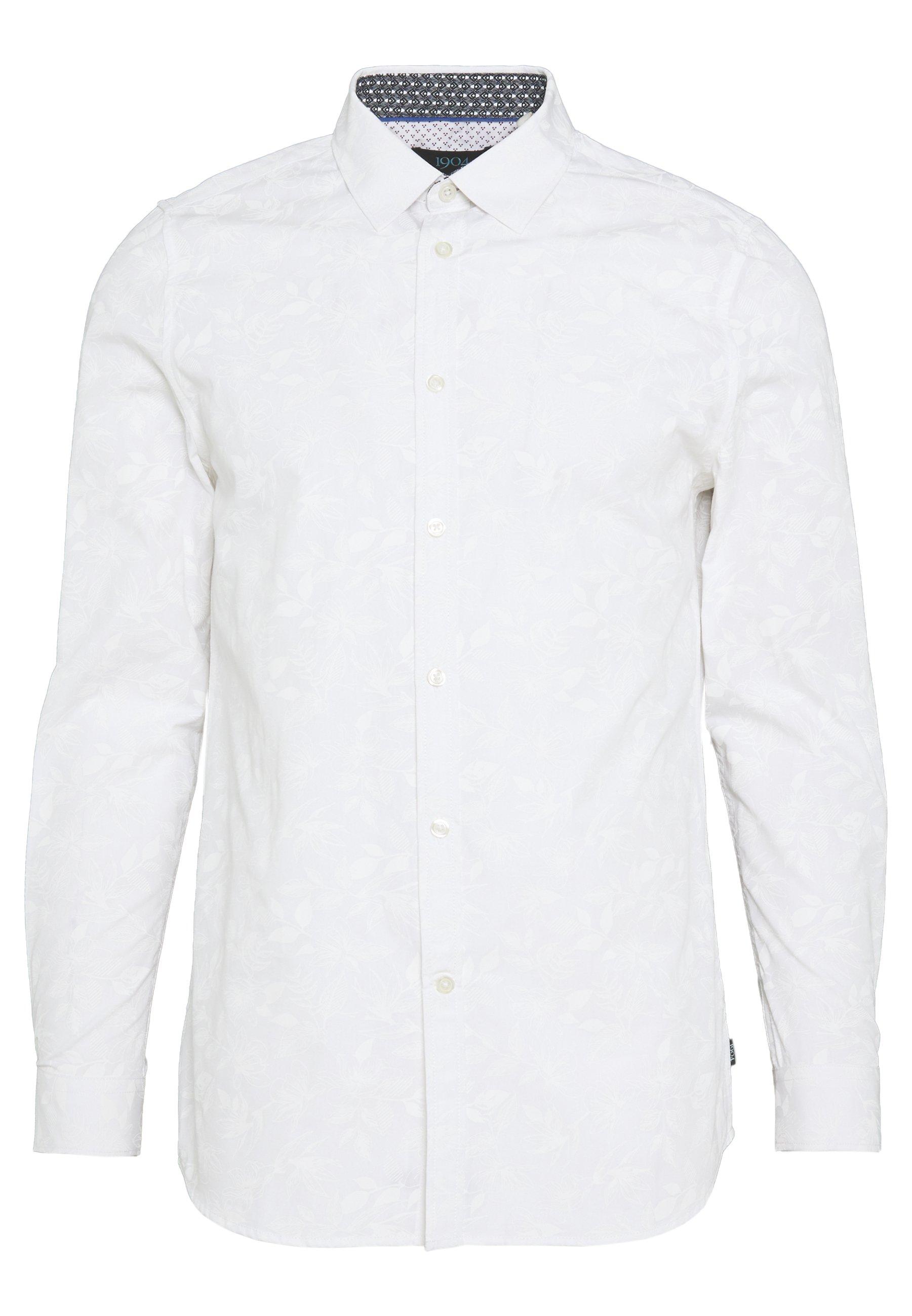1904 DUSLEY FLORAL PRINT - Koszula - white