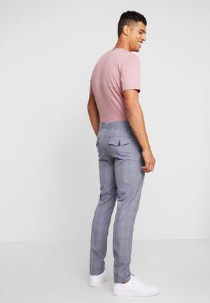 CROPPED TROUSER - Spodnie materiałowe - blue