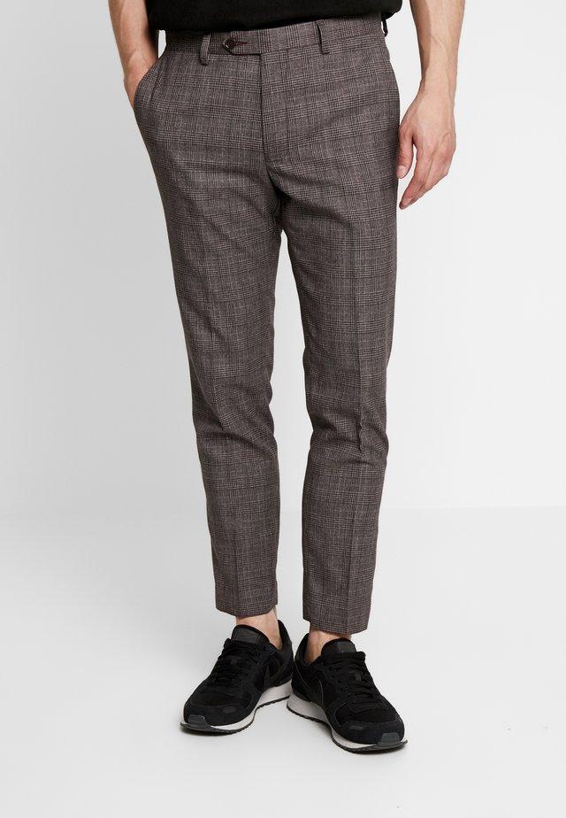 HOMEWOOD - Spodnie materiałowe - brown