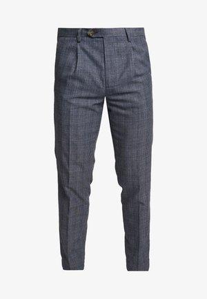 POULSDON POW - Pantalon classique - navy