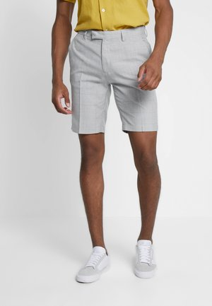 NEWENT GRID CHECK - Shorts - grey