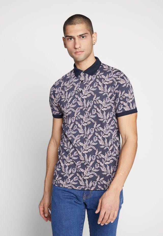 NADOR BOTANICAL FLORAL - Polo shirt - navy