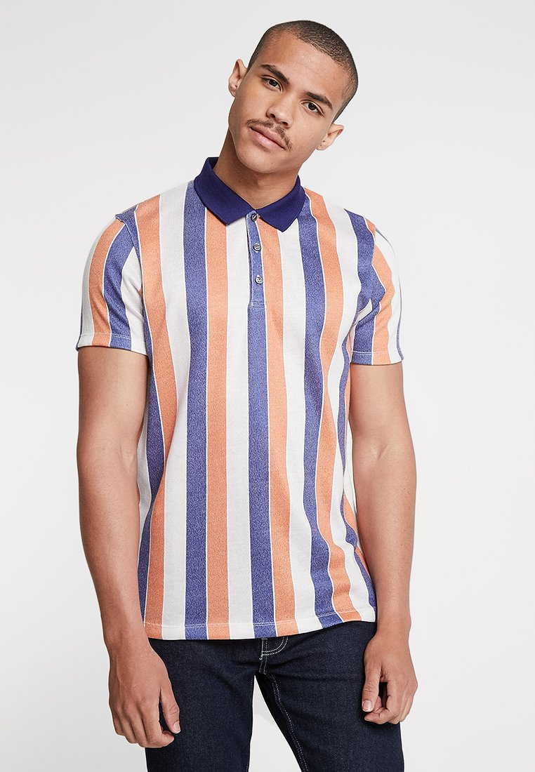 1904 - ALFORD BOLD STRIPE - Poloshirt - grey