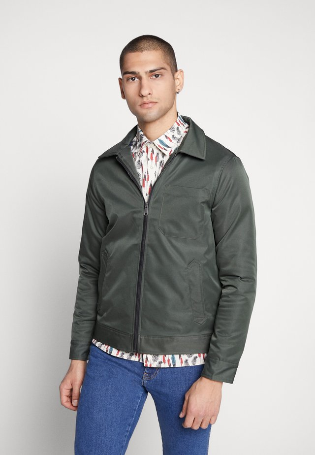 DOVER WADDED HARRINGTON - Light jacket - green
