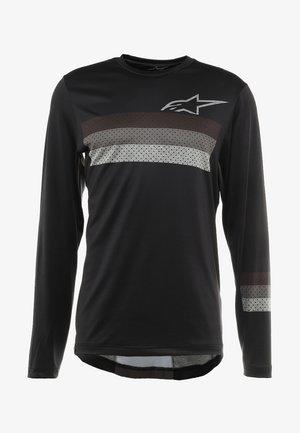 ALPS 6.0 - Bluzka z długim rękawem - melange dark gray black