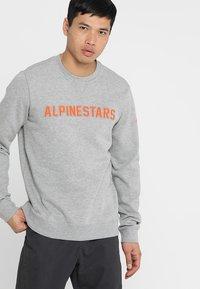 Alpinestars - DISTANCE  - Sweatshirt - grey heather/orange - 0