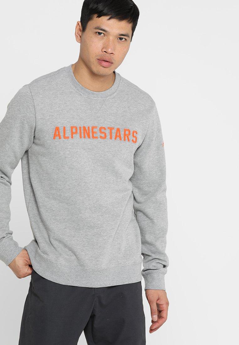 Alpinestars - DISTANCE  - Sweatshirts - grey heather/orange