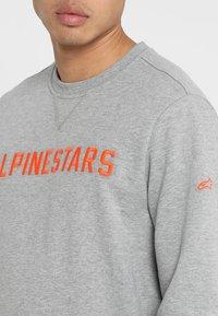 Alpinestars - DISTANCE  - Sweatshirt - grey heather/orange - 4