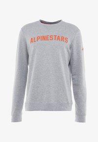 Alpinestars - DISTANCE  - Sweatshirt - grey heather/orange - 3