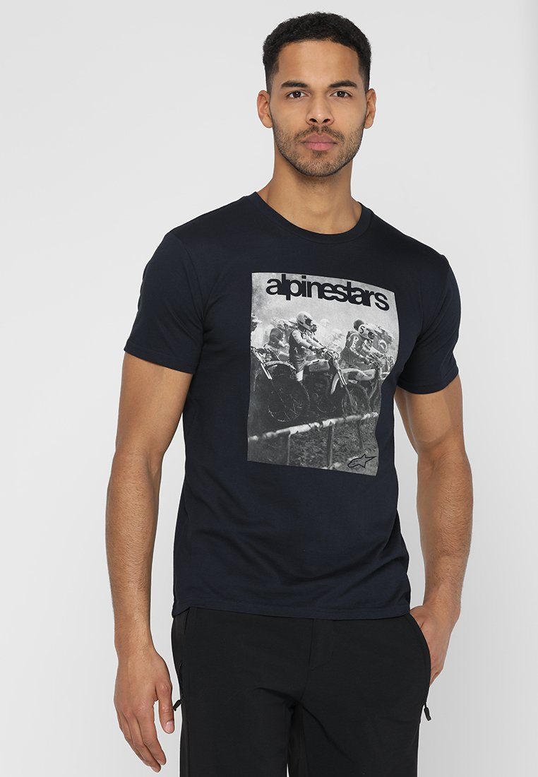 Alpinestars - REMINISCE TEE - T-Shirt print - navy