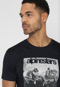 Alpinestars - REMINISCE TEE - T-Shirt print - navy - 3