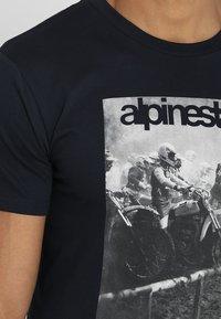 Alpinestars - REMINISCE TEE - T-Shirt print - navy - 5