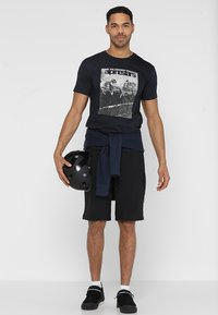 Alpinestars - REMINISCE TEE - T-Shirt print - navy - 1