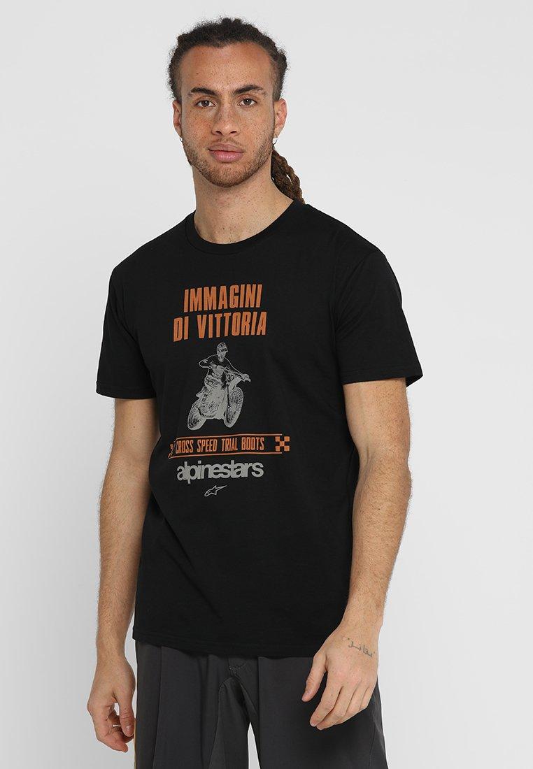 Alpinestars - HISTORIC TEE - T-Shirt print - black