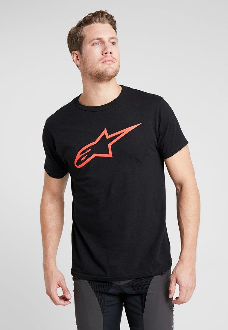 Alpinestars - AGELESS TEE - Print T-shirt - black/red